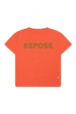 REPOSE AMS / TEE / WASHED FIRY RED