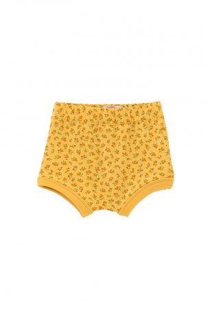 tinycottons / SS21-134 / SMALL FLOWERS BABY BLOOMER / yellow/honey