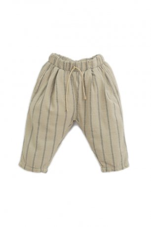 PLAY UP / Striped Woven Trousers / JOAO / 1AI11603_P7154