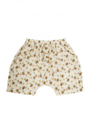 Omibia [2nd]/ TRUE Shorts (12m/24m) / Flower - Dolores / SS21W12-F