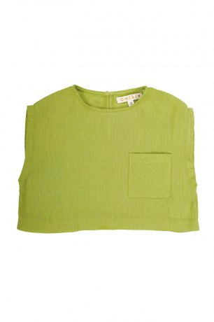Omibia [2nd]/ TULA Top (8y) / Apple Green / SS21W17-A
