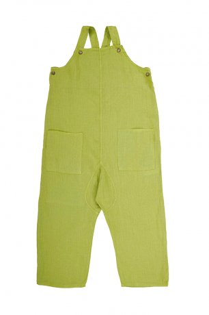 Omibia [2nd]/ ALAMO Dungarees (4y/6y) / Apple Green / SS21W18-A