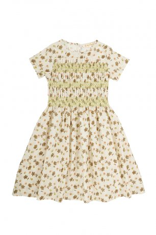 Omibia [1st] / LOVE Dress (8y) / Flowers - Dolores / SS21W05-F