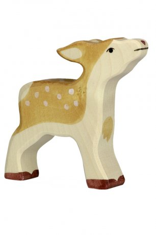 Wooden Toy / Wooden Animal Fawn / 80091