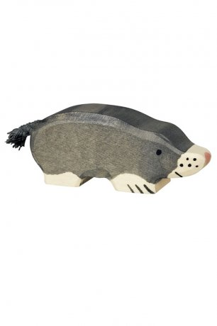 Wooden Toy / Wooden Animal Mole / 80542