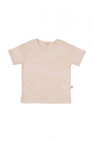 RED CARIBOU [1st] / T-Shirt / Schooling Fish / Silver Peony / SS21-TP02-13
