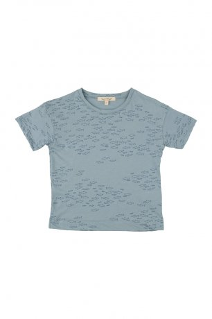 RED CARIBOU [1st] / T-Shirt / Schooling Fish / Arona / SS21-TP02-06