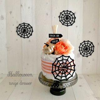 macaron Halloween stand
