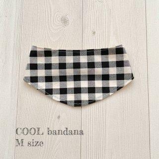 COOL bandana ギンガム Mサイズ
