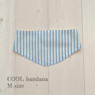 COOL bandana ブルーストライプMサイズ