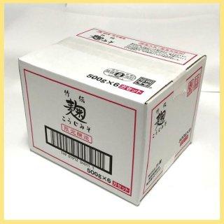 竹伝麹みそ (袋入) 500g×6個箱入