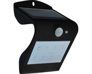 モーションセンサー付ソーラー充電式LEDウォールライト