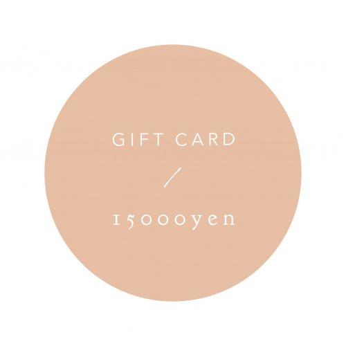 GIFT CARD 15000yen