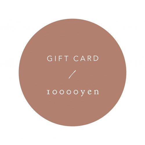 GIFT CARD 10000yen