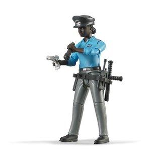 黒人女性警察官
