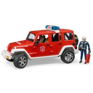 Jeep Rubicon消防カスタム(フィギュア付き)