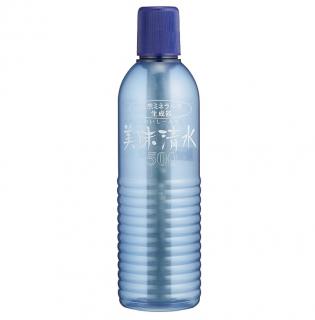 天然ミネラル水生成器『美味清水』500ml 持ち運びに便利なサイズ
