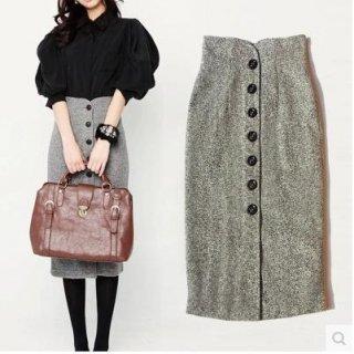 韓国タイトスカート❤ハイウエストでオシャレに着こなしたい♪タイトスカート