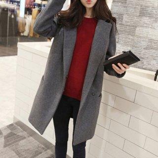 韓国チェスターコート❤シンプルデザインだから大人カッコよく着こなせる♪チェスターコート