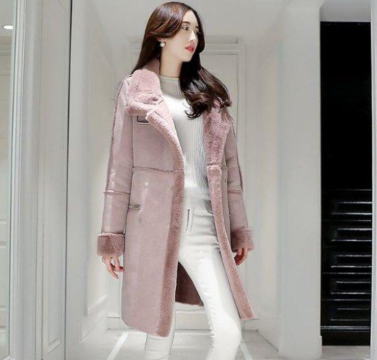 韓国アウター・ジャケットのボアジャケット・コート