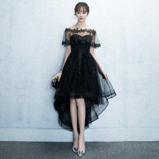 韓国ドレス❤華やかなデザインでパーティーやお呼ばれにも♪フィッシュテールドレス