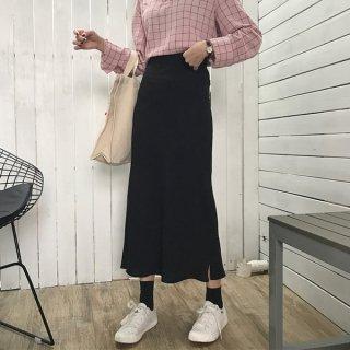 韓国スカート❤大人な雰囲気かもしだす、痩せて見えるペンシルスカート