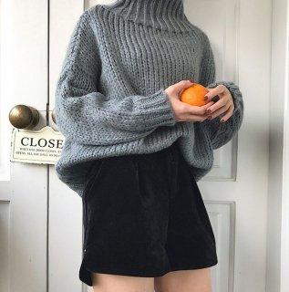 韓国パンツ❤太ももはゆったり韓国ファッションン!ショートパンツ