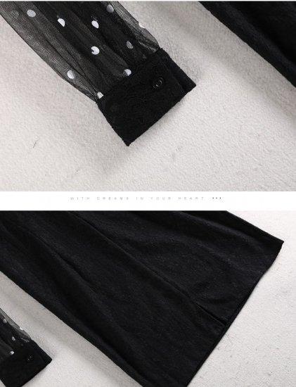 韓国ワンピースのミニ丈・ショート丈