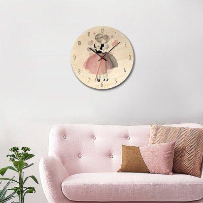 韓国掛け時計❤ガーリーな女の子の可愛い壁掛け時計 963578