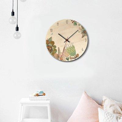 韓国掛け時計❤メルヘンなアニマル柄の可愛い壁掛け時計 963581