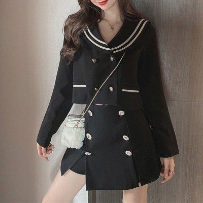 韓国セットアップ❤ショート丈トップス&ミニスカートの可愛いツーピース 963661