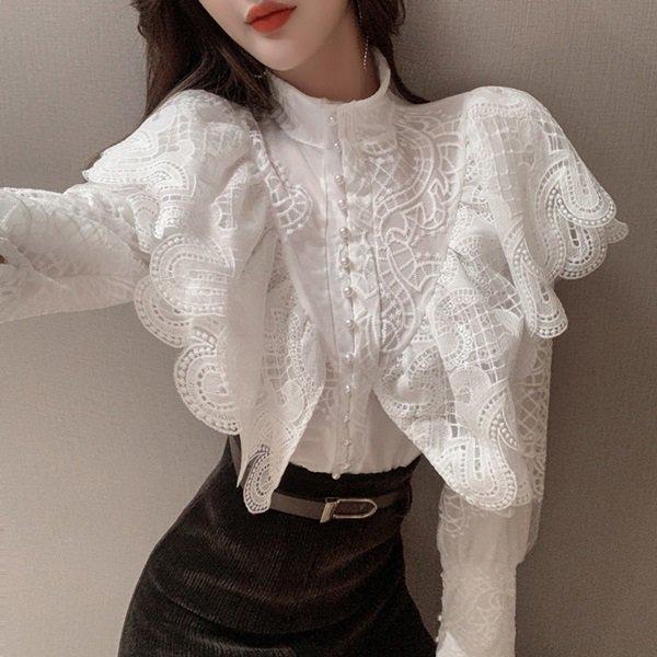 韓国トップスのシャツ・ブラウス