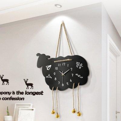 韓国掛け時計❤羊をモチーフにした可愛い壁掛け時計 963862