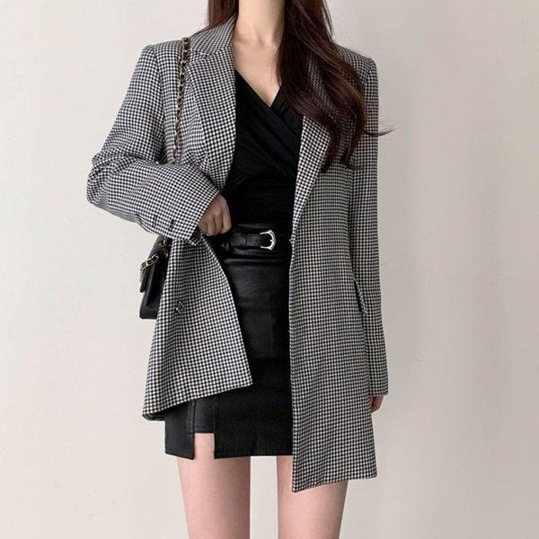 韓国アウター・ジャケットのテーラードジャケット