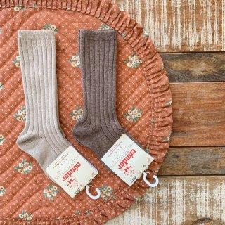 Rib High Socks