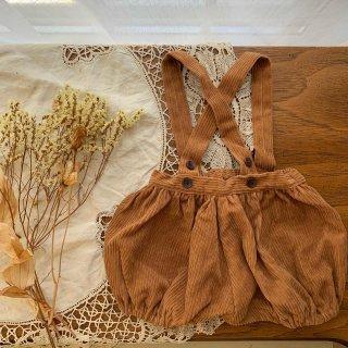 Suspender pants - Camel