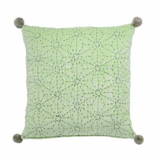 Tahti velvet cushion, pistachio【cover only】