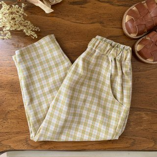 Tapered pants - poire