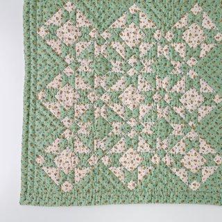 【10月入荷ご予約】Leinikki patchwork quilt, pistachio - baby