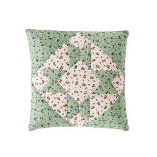 【10月入荷予約】Leinikki patchwork cushion cover pistachio