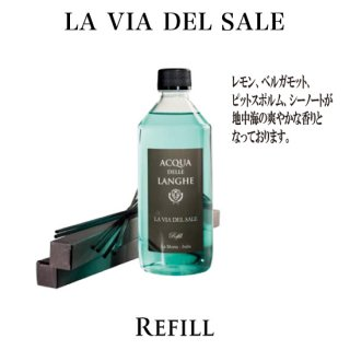 <img class='new_mark_img1' src='https://img.shop-pro.jp/img/new/icons6.gif' style='border:none;display:inline;margin:0px;padding:0px;width:auto;' />Acqua delle Langhe<br>ルームフレグランス 詰め替え500ml