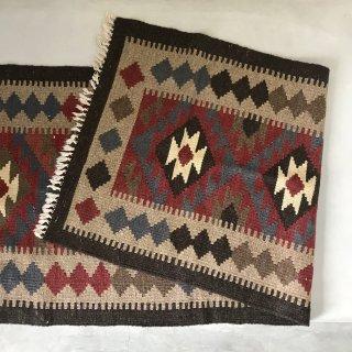 Vintage wool Kilim runner