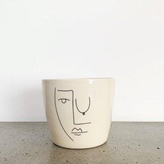 Face cappuccino mug