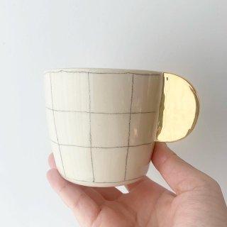 Graphite cappuccino mug