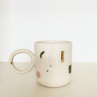 HAPPY cappuccino mug