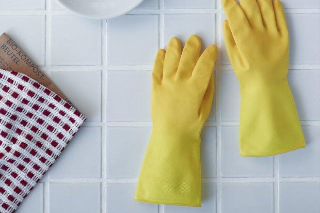 マリーゴールドのキッチン用ゴム手袋