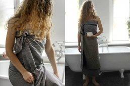 PIQUE WELLNESS TOWEL