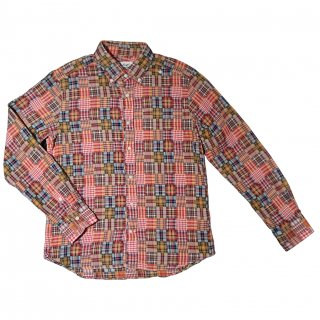 PATCHWORK MADRAS SHIRT
