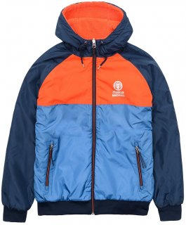 REVERSIBLE HOODED WINDBREAKER COLD SEA