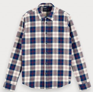 Checked Flannel Shirt Regular fit Combo A
